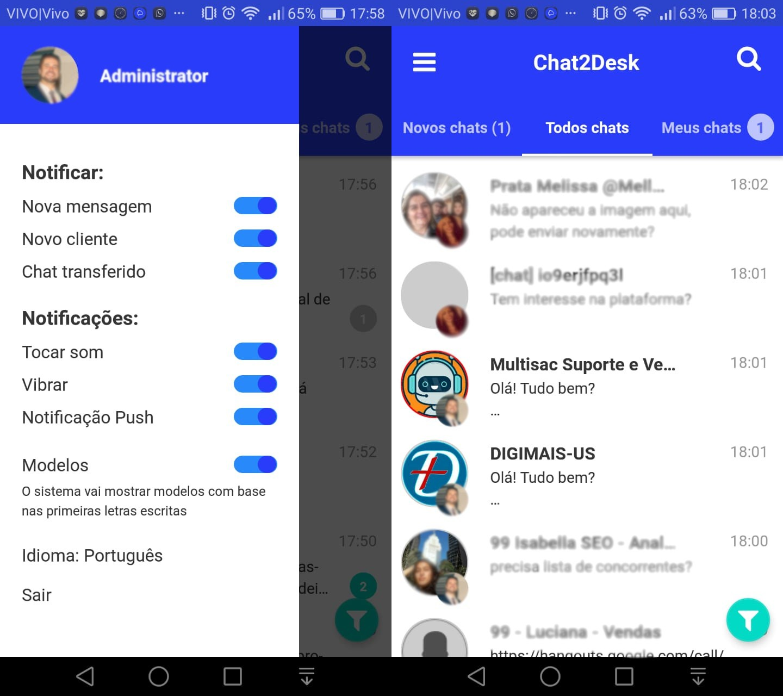 CRM Omnichannel Multiusuário com Chatbot 24h | MultiSAC 3